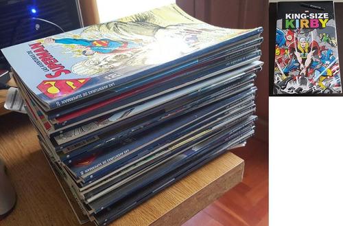 colección completa omnibus/absolutes/hc/marvel/dc/dark horse