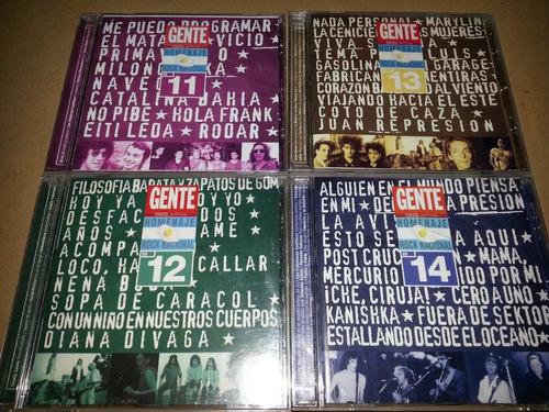 coleccion completa rock nacional gente 14 cd envío sin cargo