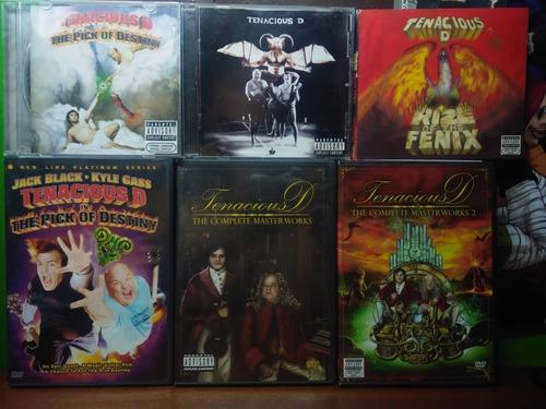 coleccion completa tenacious d pelicula + especiales dvd cds
