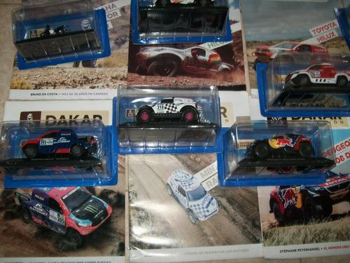 coleccion dakar 2° edicion completa, 18 autos en total