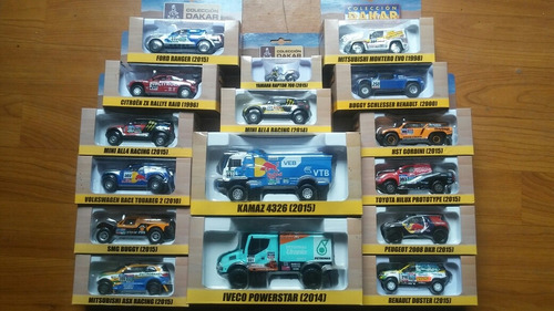 coleccion dakar autos a escala