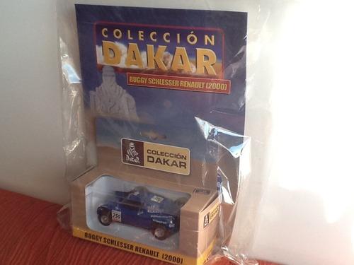 coleccion dakar buggy schlesser renault  2000 1 43  10/11cm