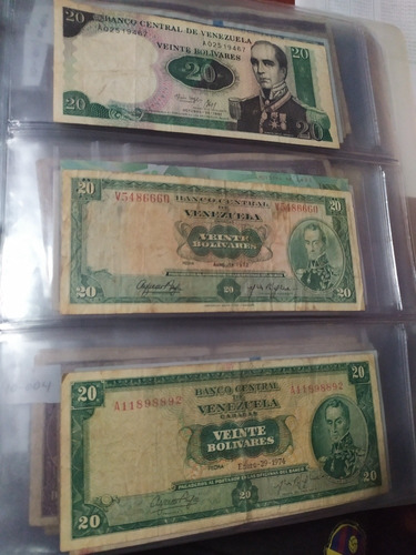 colección de 10 billetes