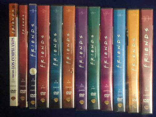 coleccion de 10 temporadas friends dvd