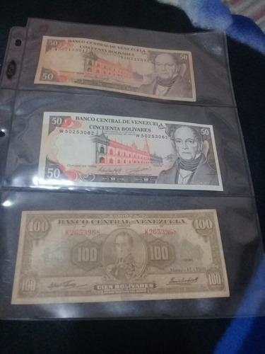 colección de 160 billetes venezolanos (fuera de circulacion)