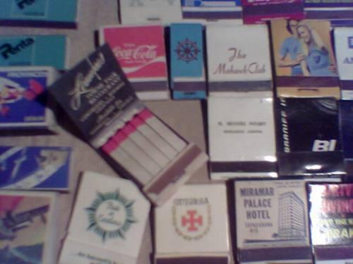 coleccion de (197) cajas de fosforos de todo el mundo