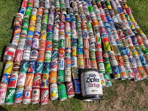 coleccion de 306 latas de diversos origenes
