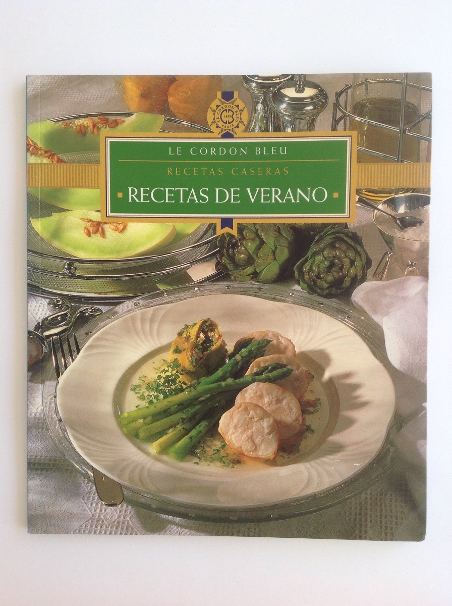 Colección De 4 Libros Le Cordon Bleu Recetas Caseras