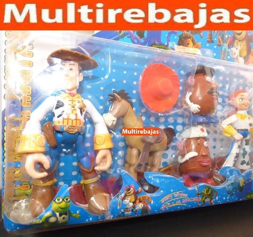 colección de 6 juguetes toy story. Cargando zoom. 73dc92e99b6
