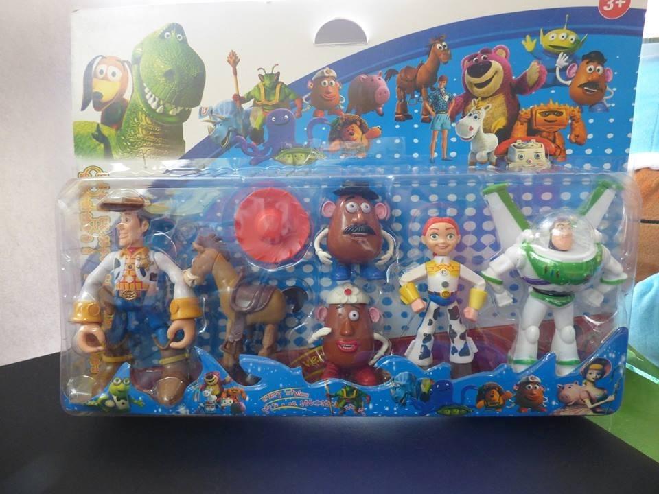 coleccion de 6 muñecos toy story. Cargando zoom. d8186d1c151