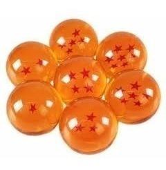 colección de 7 esferas del dragon ball z