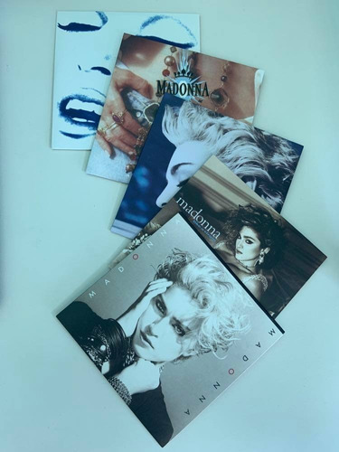colección de álbumes de madonna (cds)