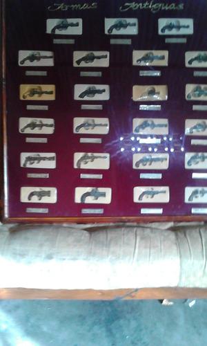 colección de armas de época