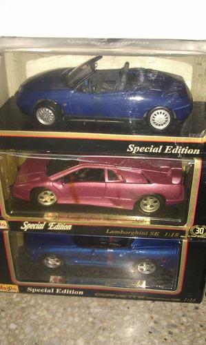 colección de autos a escala 1/18