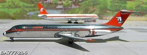 colección de aviones metálicos de aeromexico escala 1/400
