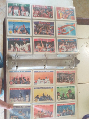 colección de barajas de la nba del año 1961