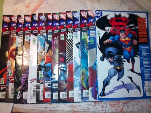coleccion de batman and  superman editorial vid