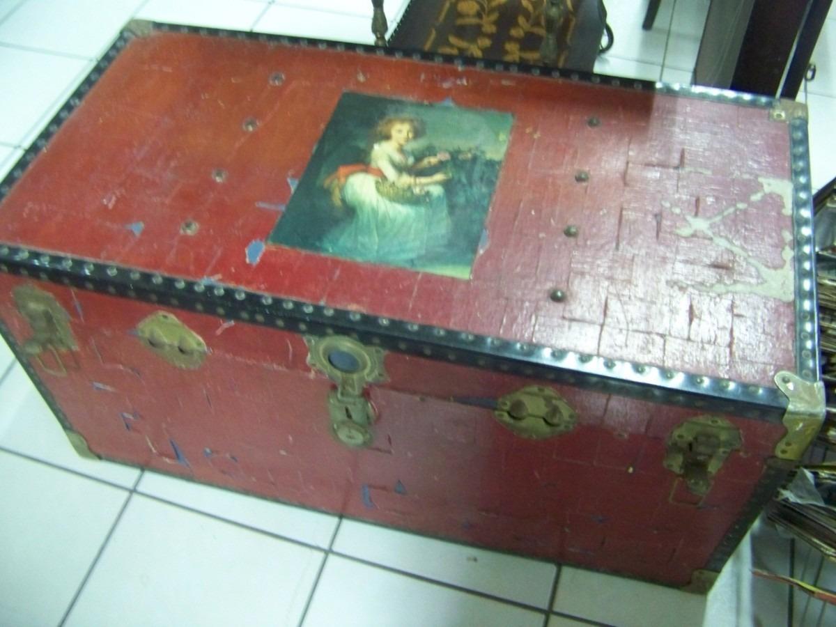 Coleccion De Baules Y Petacas Antiguas Us 40000 En Mercado Libre - Baules-antiguos
