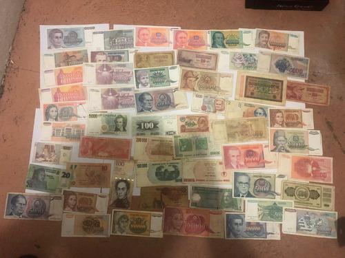 colección de billetes europa y otros países c4