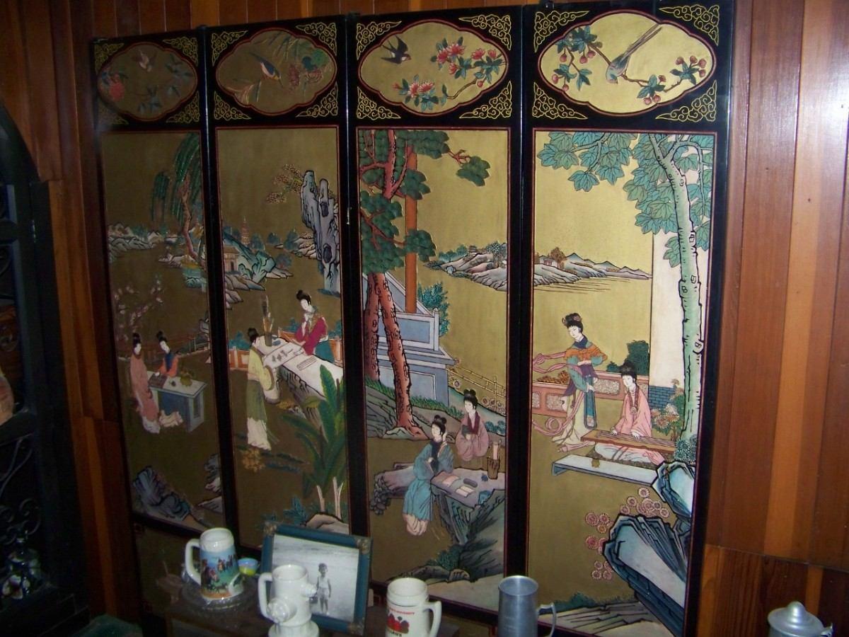 Coleccion de biombos chinos antiguos u s 1 en mercado libre - Biombos chinos antiguos ...
