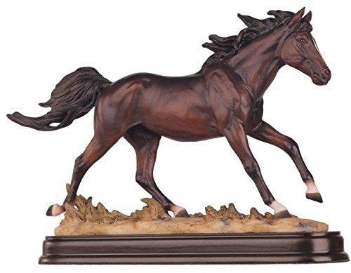 colección de caballos café caballo figura decorativa deco