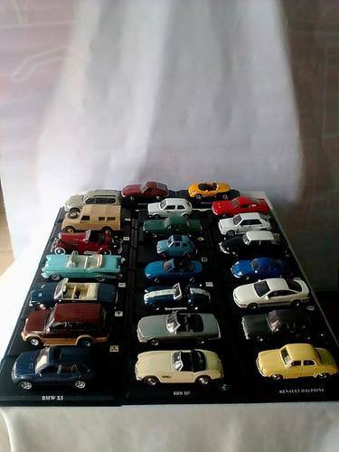 colección de carritos modelo a escala del prado