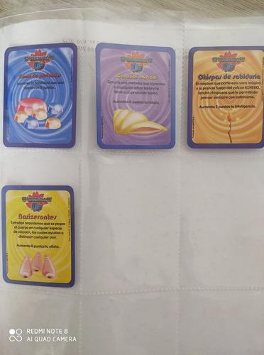 colección de cartas olocoons o2 bimbo
