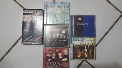 colección de cd backstreeboys originales