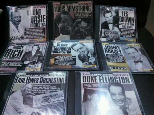 coleccion de cds de jazz the masters of jazz
