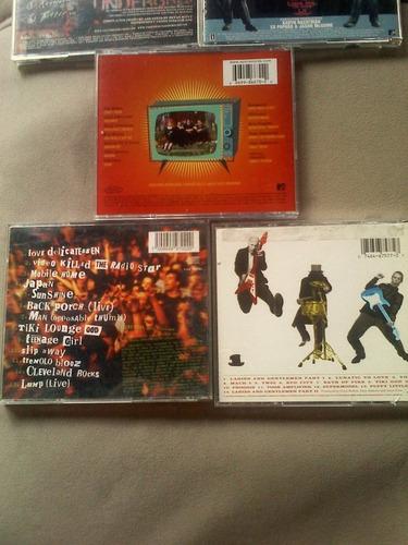 colección de cds de rock (la mejor variedad)