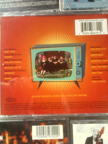 colección de cds de rock (la mejor variedad) favor no leer