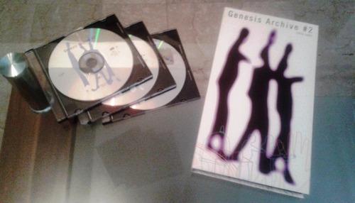 colección de cds y dvds originales de genesis