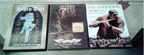 colección de cds y dvds originales de jethro tull