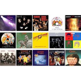 Colección De Cds Y Dvds Originales De Queen