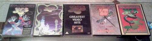 colección de cds y dvds originales de yes