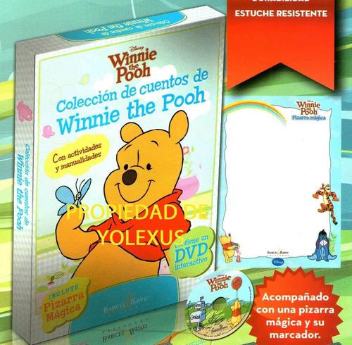 coleccion de cuentos de winnie the pooh con cd rom