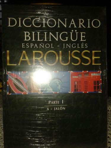 colección de diccionarios bilingüe larousse.