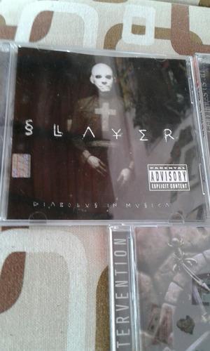 coleccion de discos de slayer