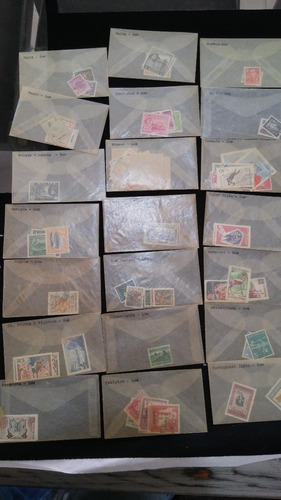 coleccion de estampillas de todo el mundo