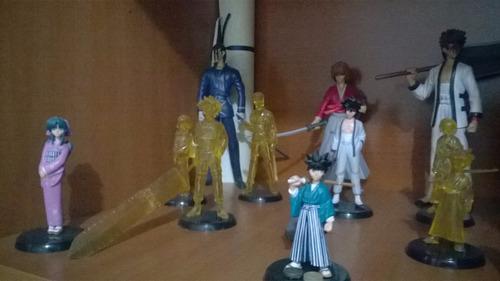 colección de figuras de samurai x rurouni kenshin