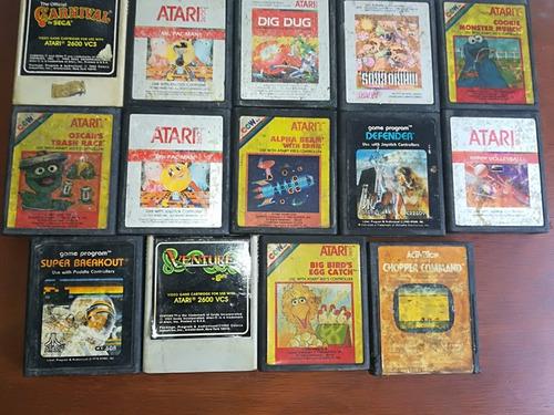 coleccion de juegos de atari 2600 100% originales
