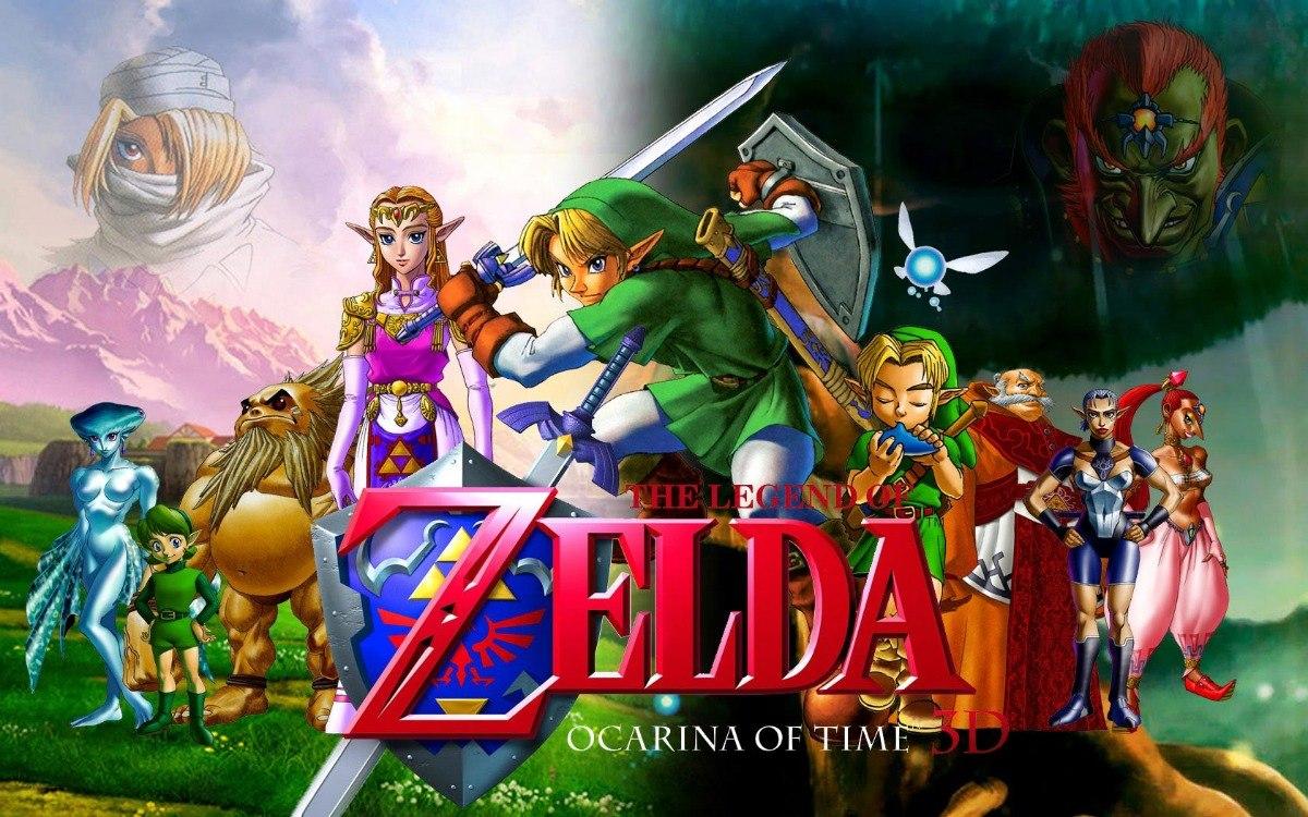 Coleccion De Juegos De Legend Of Zelda Nes Snes N64 Gba Etc