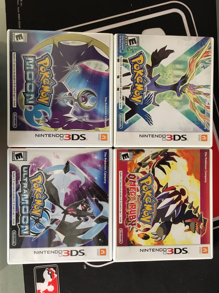 Coleccion De Juegos Pokemon Para Nintendo 3ds 2 000 00 En