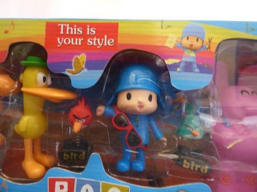 coleccion de juguetes pocoyo y