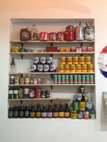 coleccion de latas de aceite antiguas, y coleccionables