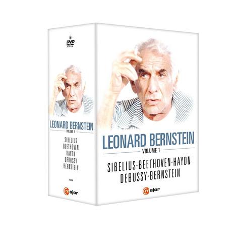 colección de leonard bernstein (6dvd)