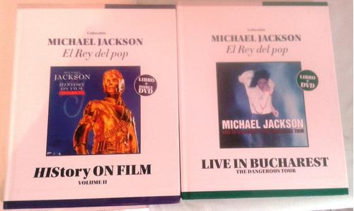 coleccion de libro+cd, libro+dvd de michael jackson