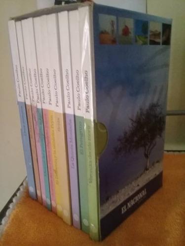 coleccion de libros de paulo coelho.17 verdes