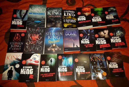 colección de libros de stephen king