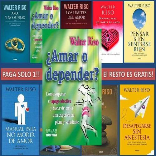 coleccion de libros de walter riso (18 libros digitales)